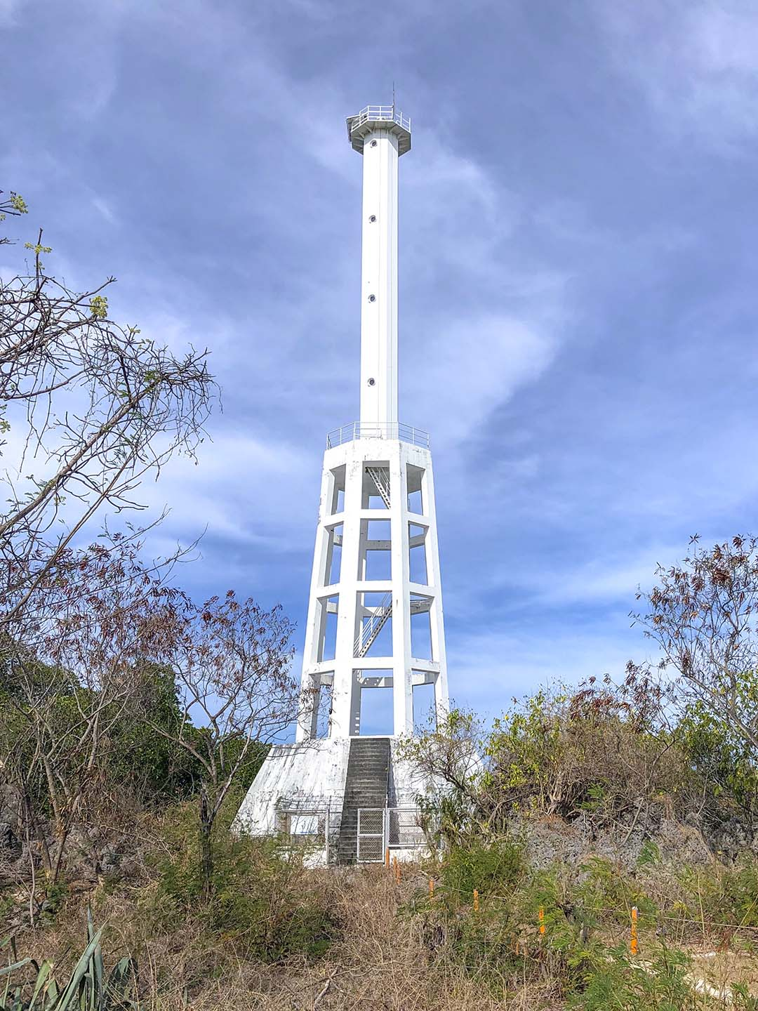 The lighthouse in Apo Island