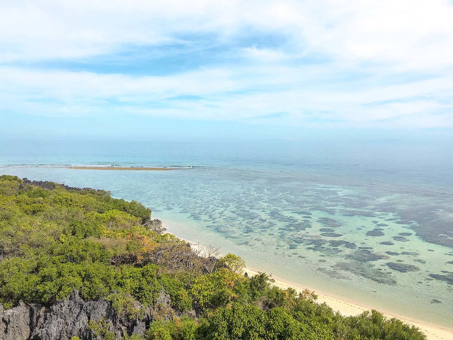 View of Apo Reef from the lighthouse
