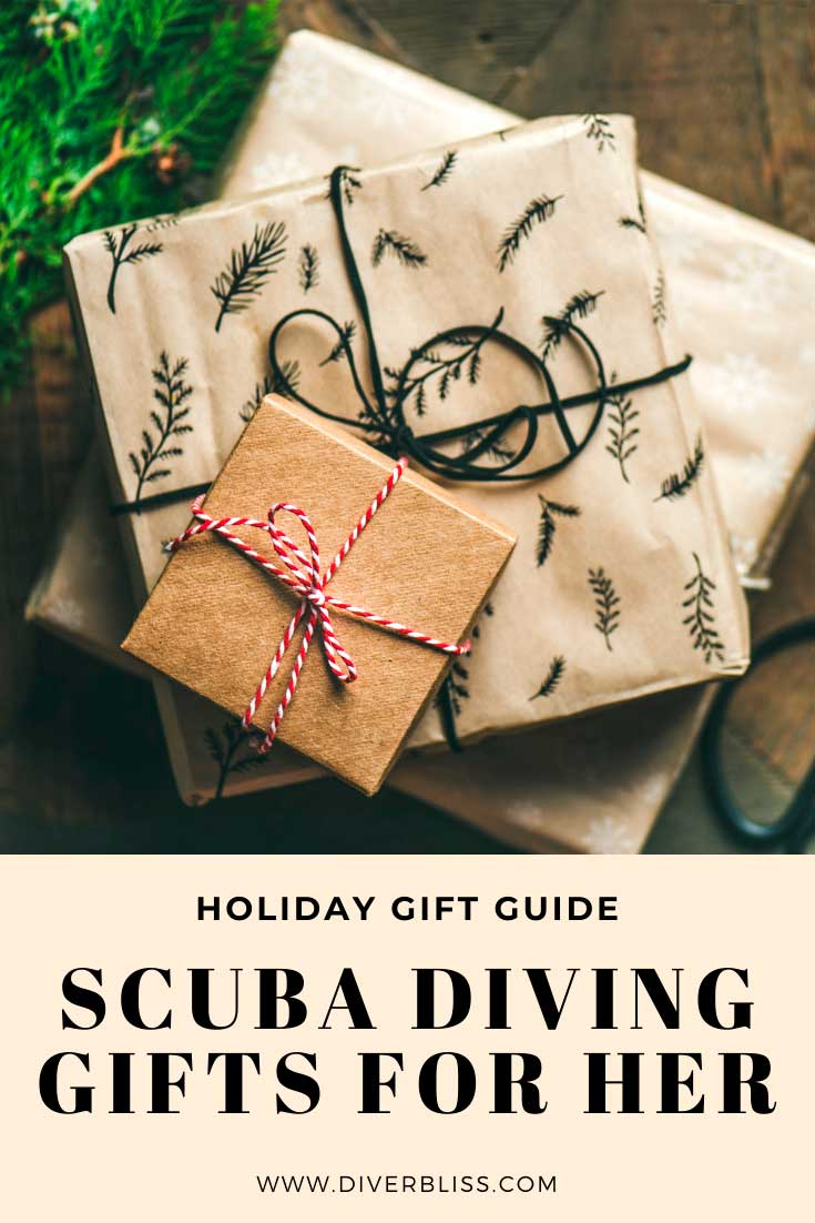 scuba diving gifts for her holiday gift guide