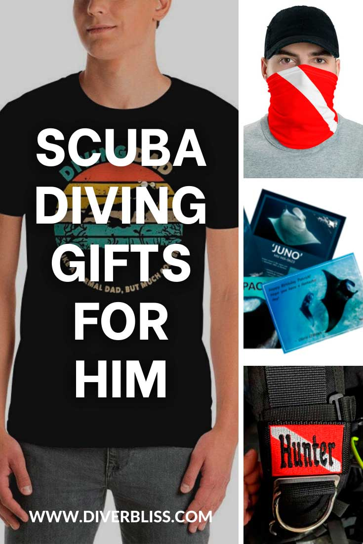 Scuba diving gifts for him