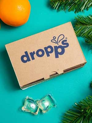 stain and odor laundry detergent pods from Dropps