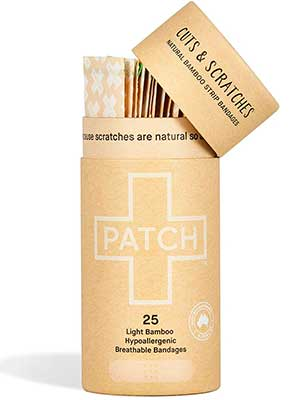 Natural Bamboo Bandages from Patch