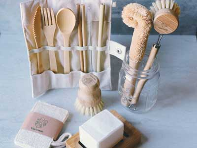 Sustainable kitchen kit from Vila Verde Shop
