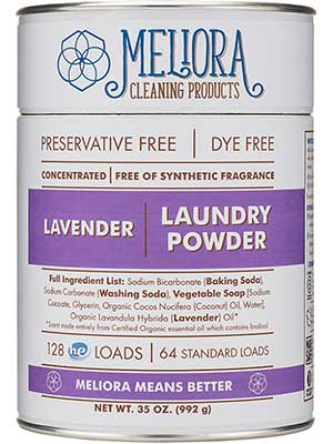 eco laundry powder from Meliora