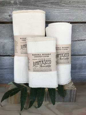 Unpaper Towels from Juniperseed Mercantile