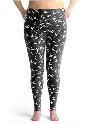 Orca Camouflage Leggings by Space Fish Army