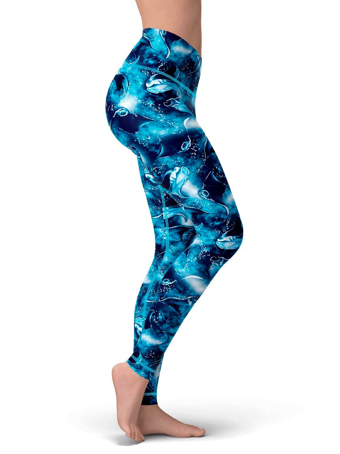 Leggings on Space Fish Army