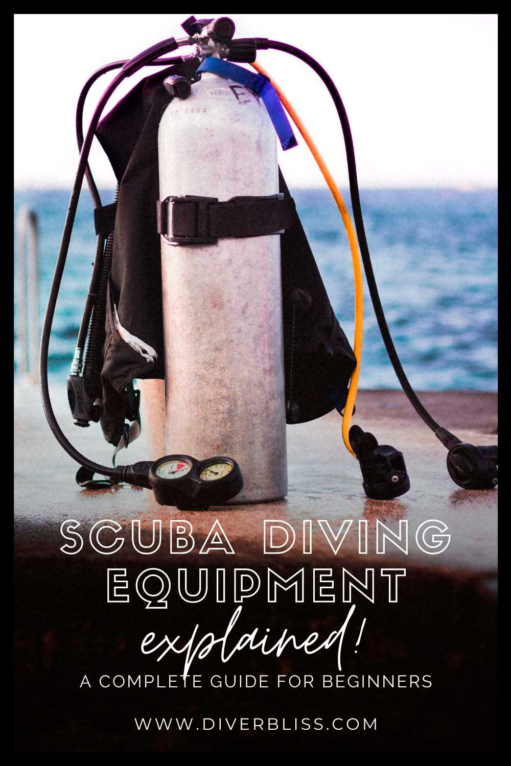 Equipment for scuba diving explained! A complete guide for beginners