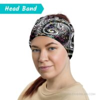 Crazy Octopus Head Band on Woman