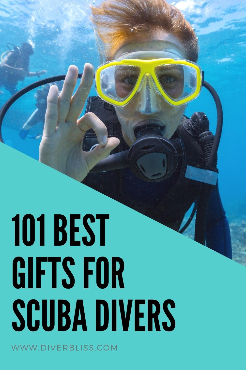 101 Best Gifts for Scuba Divers