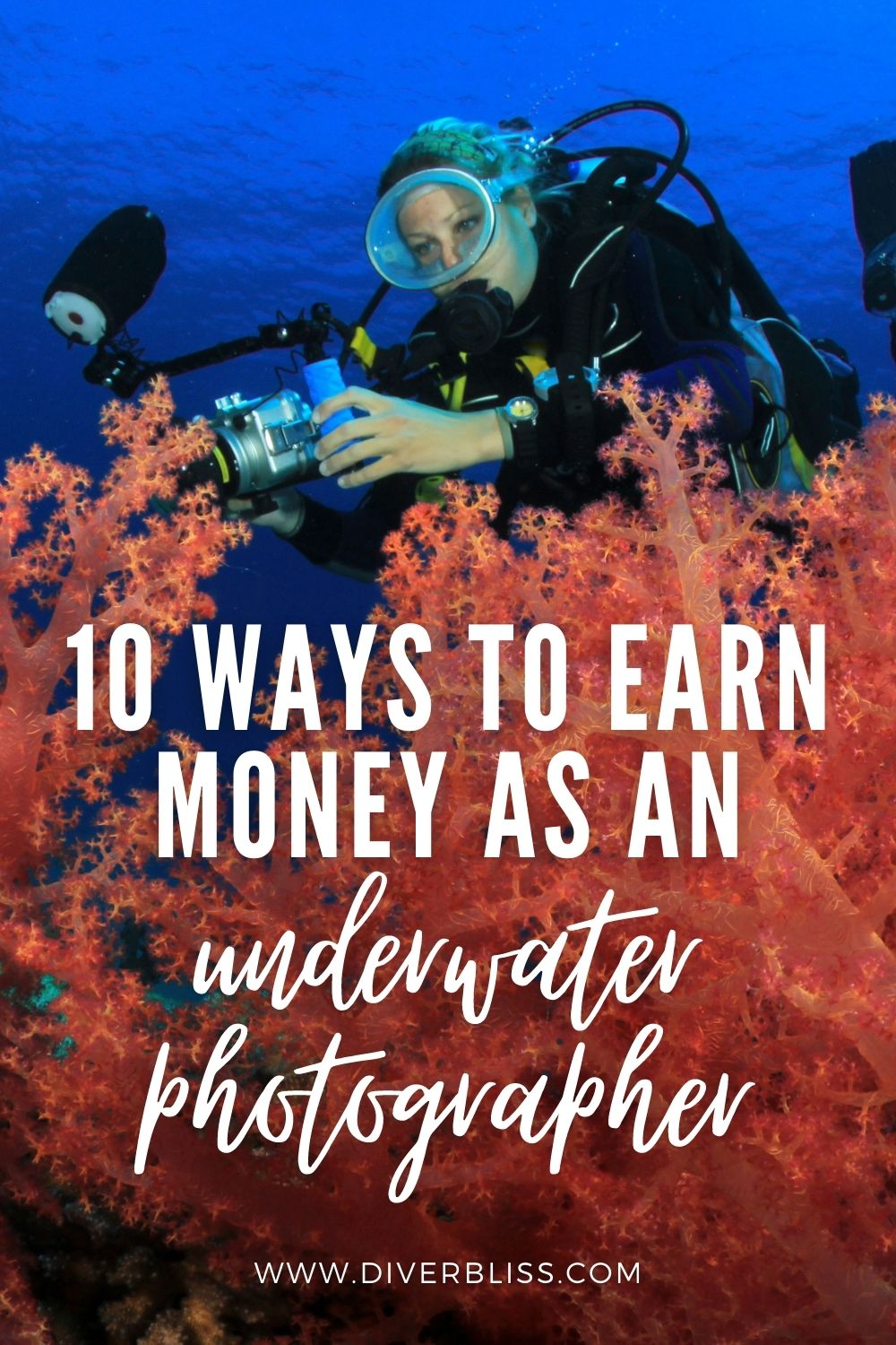 10 ways to earn money as an underwater photographer