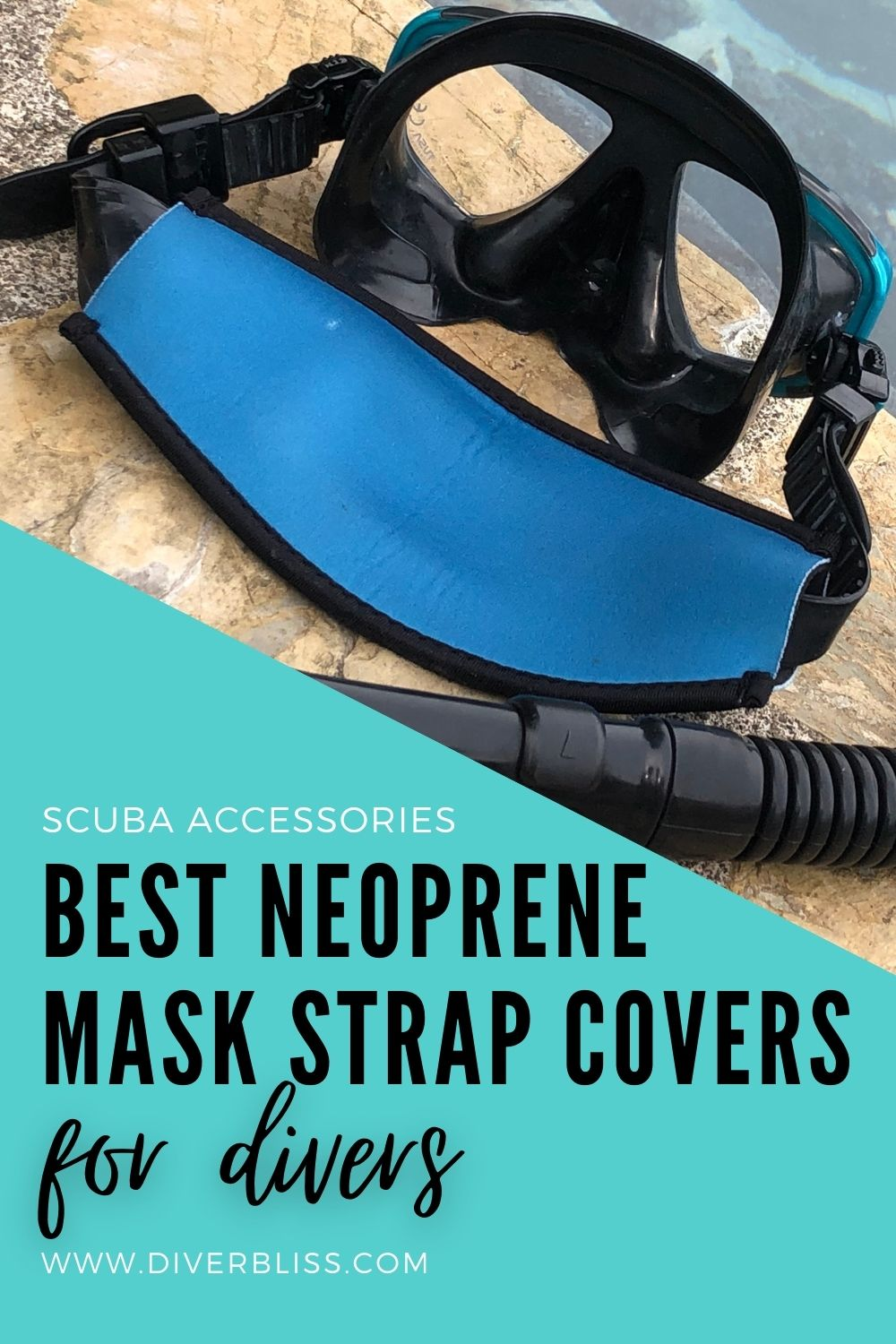 Best neoprene mask strap covers for divers