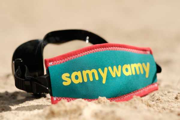 Customized Scuba Mask Strap Cover by Snorklies