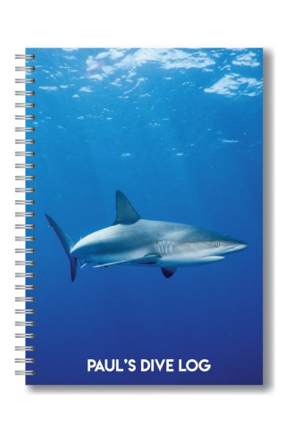 Shark Dive Log Book by DiveProof