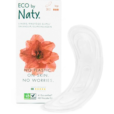 Eco by Naty Panty Liners for Plastic free periods