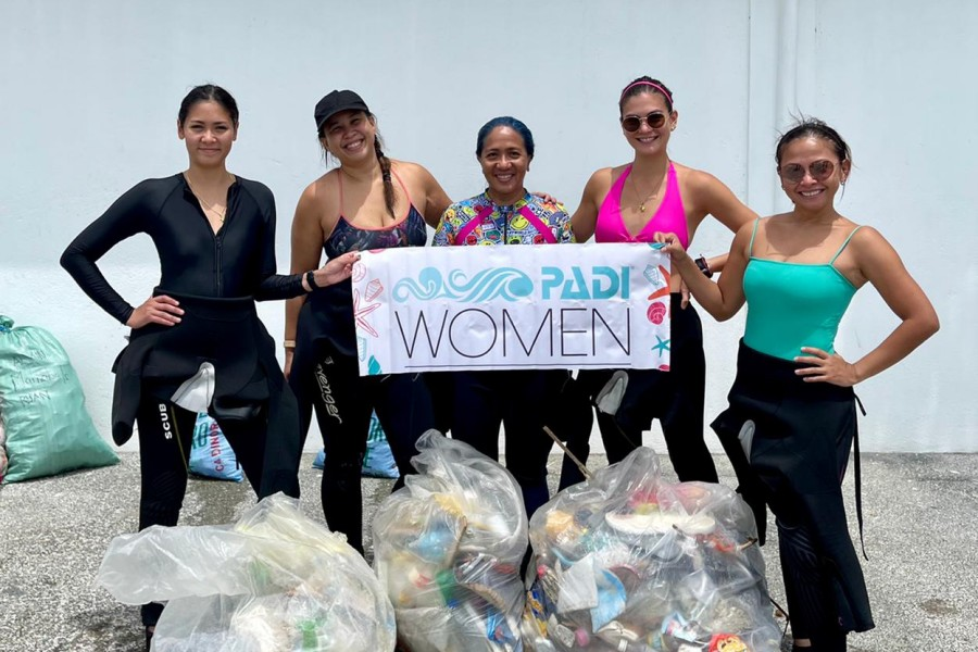 PADI Women's Dive Day Event in the Philippines