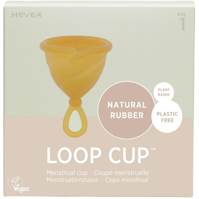 Hevea Loop Cup, Natural Rubber Menstrual Cup for Zero Waste Periods