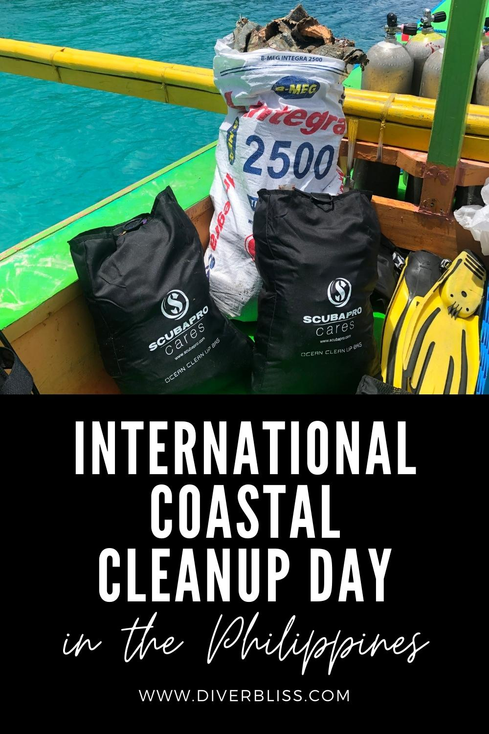 International Coastal Cleanup Day in the Philippines