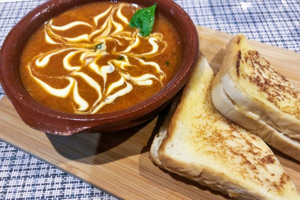 Layag Resort Tomato Soup and grilled cheese