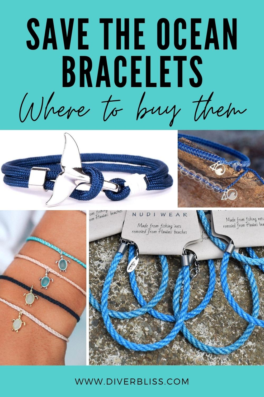 Save the ocean bracelets and where to buy them