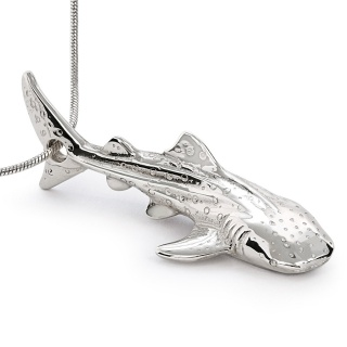 Whale shark necklace by Roland St. John